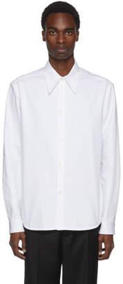 Namacheko White Scraped Color Shirt
