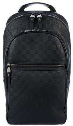 Louis Vuitton 2016 Damier Infini Michael Backpack