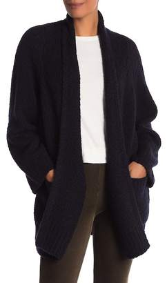 Vince Open Front Ribbed Cardigan