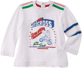 Chicco Boys' White Motocross Shirt