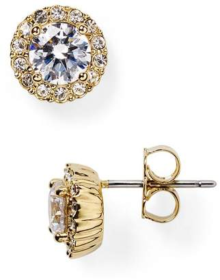Nadri Sterling Pavé Stud Earrings