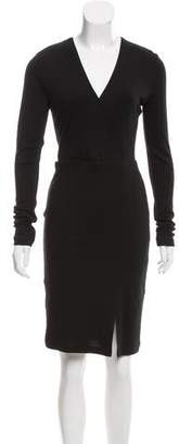 Alice + Olivia Wool Knee-Length Dress