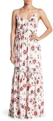 BB Dakota Floral Print Maxi Dress