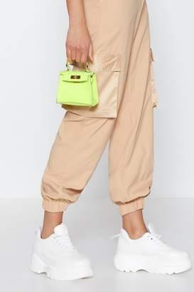 Nasty Gal WANT Neon It Tonight Mini Crossbody Bag