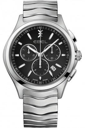 Ebel Mens Wave Chronograph Watch 1216342
