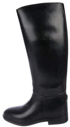 Aigle Leather Knee-High Boots