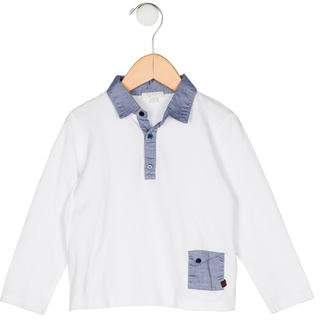 Gucci Boys' Collar Long Sleeve Shirt