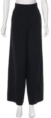 Fendi Wool Wide-Leg Pants
