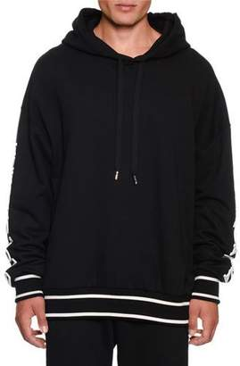 Dolce & Gabbana Men's Hoodie With Rubber Logo