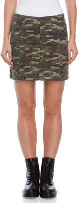 Free People Modern Femme Novelty Camo Mini Skirt