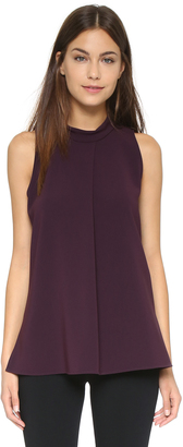 Theory Admiral Crepe Talniza Blouse $190 thestylecure.com