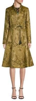 Etro Jacquard Flare Topper Coat