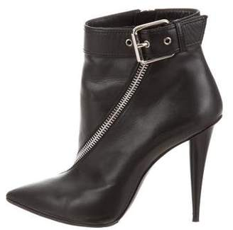 Giuseppe Zanotti Leather Pointed-toe Ankle Boot