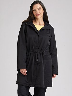 Eileen Fisher, Salon Z Hooded Anorak Jacket