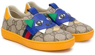 Gucci Kids GG Supreme character patch sneakers