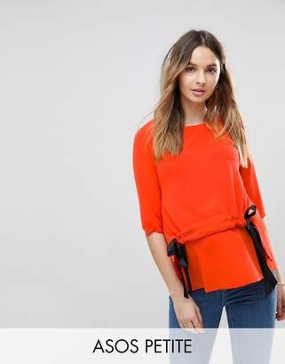 Asos PETITE NURSING Channel Front Top