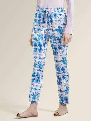 DKNY Printed Pull-On Pant