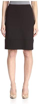 Society New York Women's Seamed Hem Skirt