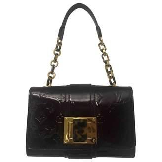 Louis Vuitton Burgundy Patent leather Shoulder Bag