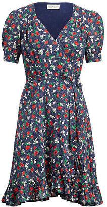 Ralph Lauren Denim & Supply Floral-Print Wrap Dress $125 thestylecure.com