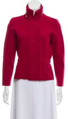 Akris Punto Wool Sweater Jacket