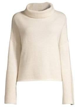 360 Cashmere Lulu Bell Sleeve Turtleneck Sweater