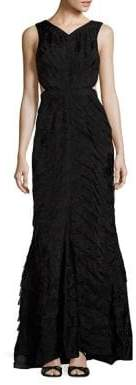 Parker Black Tara Embellished Gown