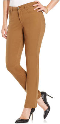 Style&Co. Style & Co Petite Tummy-Control Slim-Leg Jeans, Created for Macy's