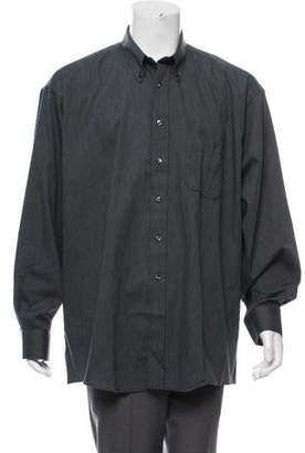 Burberry Herringbone Casual Shirt