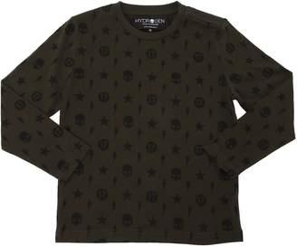 Hydrogen Kid Printed Jersey Long Sleeve T-Shirt
