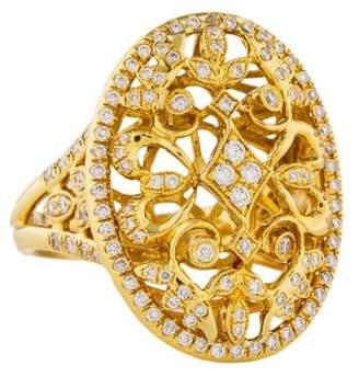 Co Gabriel & 14K Diamond Cocktail Ring