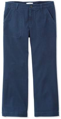L.L. Bean L.L.Bean Signature Wide-Leg Cropped Pants