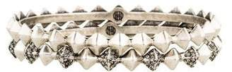 House Of Harlow Spike Stack Bangle Set