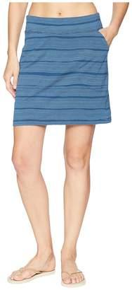 Icebreaker Yanni Merino Skirt Combed Lines Women's Skirt