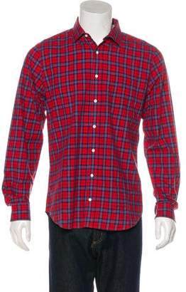 Gant Plaid Button-Up Shirt