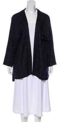 eskandar Long Sleeve open Front Jacket