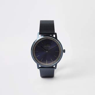 Mens Hugo Boss Exist Blue mesh bracelet watch