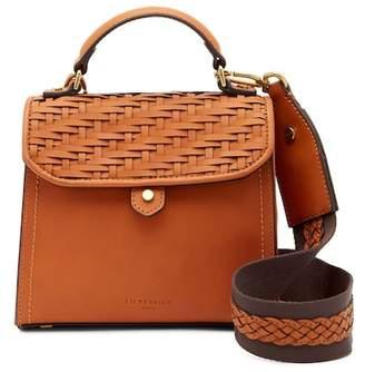 Liebeskind Berlin Glendale Mini Woven Leather Crossbody Bag