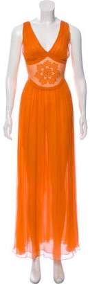 Sophie Theallet Pleated Maxi Dress