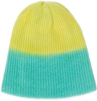 The Elder Statesman gradient knit beanie