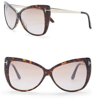 ce4ac94064e1 ... Tom Ford Women s Reveka 59mm Cat Eye Sunglasses
