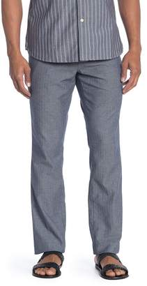 "Jachs Lightweight Stretch Herringbone Pants - 32-34"" Inseam"