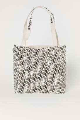 H&M Patterned beach bag