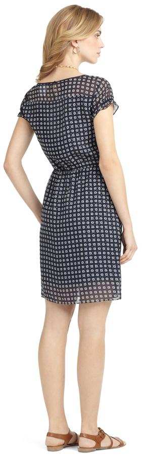 Square Print Dress 2