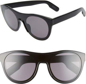 5c21f1e5dc24 Kenzo 55mm International Fit Flat Front Sunglasses