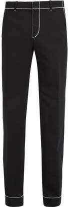 Givenchy Stitch-detail straight-leg trousers