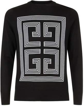 Givenchy Large Logo Knit