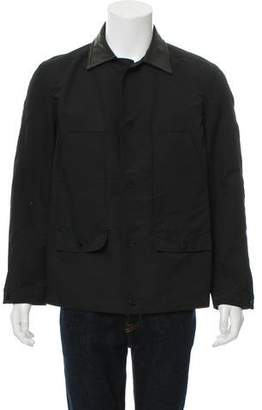 Alexander Wang Lightweight Leather-Trimmed Jacket