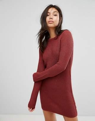 Brave Soul Raglan Sweater Dress