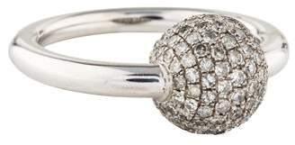 Ring 18K Diamond Ball